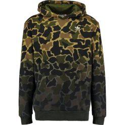 Adidas Originals CAMO Bluza z kapturem multicoloured. Szare bluzy męskie rozpinane marki adidas Originals, na co dzień, z nadrukiem, z bawełny, casualowe, z okrągłym kołnierzem, proste. Za 379,00 zł.