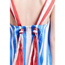 Długie sukienki: Mother of Pearl MAISIE Długa sukienka blue/red stripe
