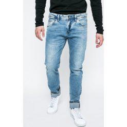 Tom Tailor Denim - Jeansy. Czarne jeansy męskie relaxed fit TOM TAILOR DENIM, z denimu. W wyprzedaży za 139,90 zł.