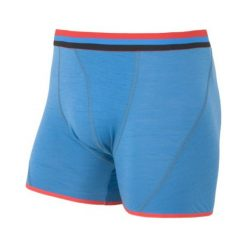 Bokserki męskie: Sensor Bokserki Merino Wool Active M Blue S