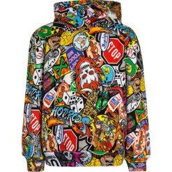 MOSCHINO HOODED Bluza z kapturem multicolor. Brązowe bluzy chłopięce MOSCHINO, z bawełny, z kapturem. Za 499,00 zł.