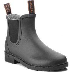 Kalosze TRETORN - Chelsea Classic Wool 473417  Black 10. Czarne buty zimowe damskie Tretorn, z kauczuku. Za 499,00 zł.