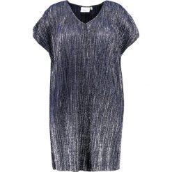 Sukienki hiszpanki: Zizzi Sukienka letnia dark blue, silver