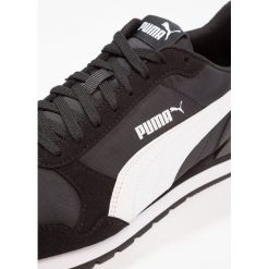 Puma ST RUNNER V2 NL Tenisówki i Trampki black/white. Czarne trampki męskie Puma, z materiału. W wyprzedaży za 194,65 zł.