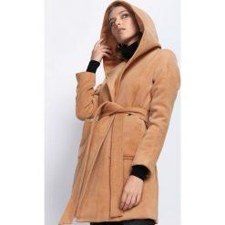 Płaszcze damskie: Camelowy Płaszcz Winter Glow