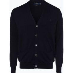 Polo Ralph Lauren - Kardigan męski, niebieski. Niebieskie swetry rozpinane męskie Polo Ralph Lauren, m, z bawełny, polo. Za 759,95 zł.