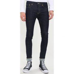 Topman RAW UPDATE SPRAY ON  Jeans Skinny Fit blue. Niebieskie jeansy męskie relaxed fit marki Topman. W wyprzedaży za 206,10 zł.