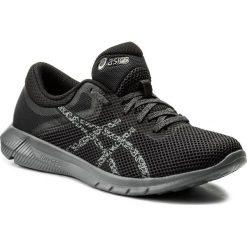 Buty ASICS - Nitrofuze 2 T7E3N  Carbon/Black/Carbon 9790. Czarne buty do biegania męskie Asics, z materiału, z paskami. W wyprzedaży za 229,00 zł.