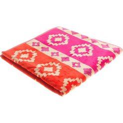 """Kąpielówki męskie: Ręcznik plażowy """"Nikita"""" w kolorze różowo-pomarańczowym – 160 x 86 cm"""