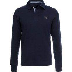 GANT THE ORIGINAL HEAVY RUGGER Koszulka polo evening blue. Niebieskie koszulki polo marki GANT, m, z bawełny, z długim rękawem. Za 379,00 zł.