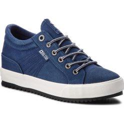 Sneakersy BIG STAR - BB274502 Navy. Niebieskie sneakersy damskie BIG STAR, z materiału. Za 119,00 zł.