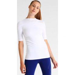 Adidas Performance WARPKNIT SLIM Koszulka sportowa white. Czerwone topy sportowe damskie marki adidas Performance, m. W wyprzedaży za 137,40 zł.