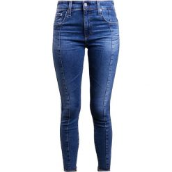 Boyfriendy damskie: AG Jeans FARRAH  Jeans Skinny Fit blue denim