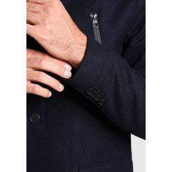 Pier One Płaszcz zimowy dark blue. Niebieskie płaszcze na zamek męskie Pier One, na zimę, m, z materiału. Za 509,00 zł.