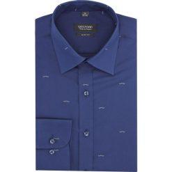 Koszula versone 2845e długi rękaw slim fit granatowy. Szare koszule męskie slim marki Recman, na lato, l, w kratkę, button down, z krótkim rękawem. Za 149,00 zł.