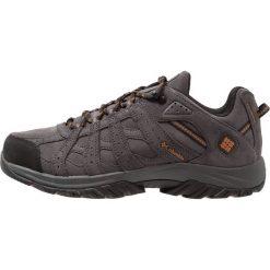 Columbia CANYON POINT OMNITECH Obuwie hikingowe dark grey/bright copper. Szare buty skate męskie Columbia, z gumy, outdoorowe. Za 449,00 zł.