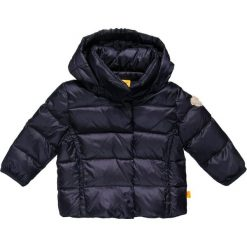 Steiff Collection SWEET TEDDY Kurtka puchowa marine blue. Szare kurtki chłopięce zimowe marki Steiff Collection, z bawełny. W wyprzedaży za 207,35 zł.