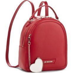 Plecaki damskie: Plecak LOVE MOSCHINO – JC4075PP15LI0500  Rosso