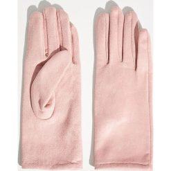 Rękawiczki damskie: Rękawiczki - Różowy