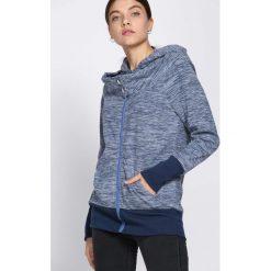 Niebieska Bluza Make Go Of. Niebieskie bluzy rozpinane damskie marki Born2be, l, z dresówki. Za 39,99 zł.