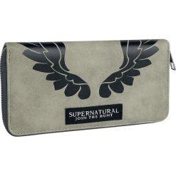 Supernatural Castiel Portfel szary. Szare portfele damskie Supernatural, z aplikacjami. Za 79,90 zł.