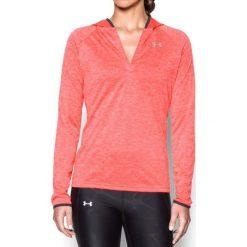 Bluzy sportowe damskie: Under Armour Bluza damska Tech LS Hood Twist czerwona r. XS (1269181-963)