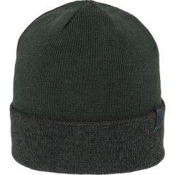 Czapka męska CAM257Z - szaro-zielony melanż - 4F. Szare czapki zimowe męskie 4f, na jesień, melanż, z materiału. Za 19,99 zł.