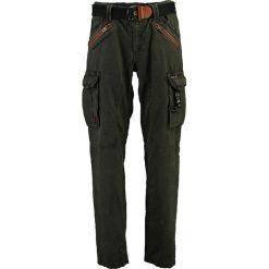 Spodnie męskie: Bojówki w kolorze antracytowym