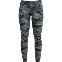 Spodnie damskie: RED by EMP Built For Comfort Legginsy kamuflaż (Dark Camo)