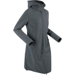 Płaszcz funkcyjny softshell bonprix antracytowy. Szare płaszcze damskie bonprix, m, z materiału. Za 199,99 zł.