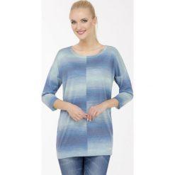 Swetry klasyczne damskie: Multikolorowy sweter
