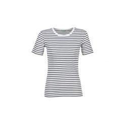 T-shirty z krótkim rękawem Benetton  AVILOLA. Białe t-shirty damskie marki Benetton, xl. Za 63,20 zł.