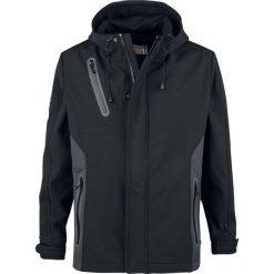 Lonsdale London Soft Shell Jacket Isington Kurtka czarny/szary. Czarne kurtki męskie marki Lonsdale London, l. Za 489,90 zł.