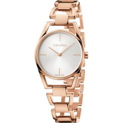 ZEGAREK CALVIN KLEIN DAINTY K7L23646. Szare zegarki damskie marki Calvin Klein, szklane. Za 1489,00 zł.