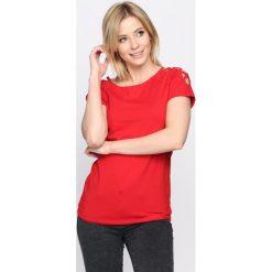 T-shirty damskie: Czerwony T-shirt Curtains