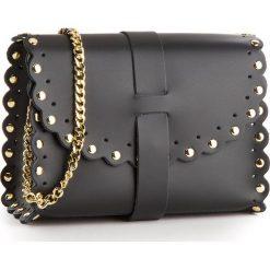 Torebka CREOLE - K10485  Czarny. Czarne torebki klasyczne damskie Creole, ze skóry. Za 139,00 zł.