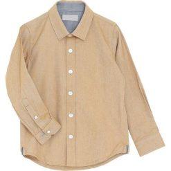Beżowa Koszula Cordial. Brązowe koszule chłopięce marki Born2be. Za 59,99 zł.
