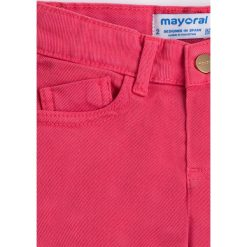 Mayoral - Szorty dziecięce 92-134 cm. Różowe szorty damskie Mayoral, z bawełny, casualowe. Za 94,90 zł.