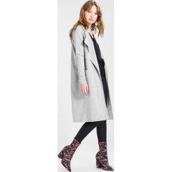 Płaszcze damskie pastelowe: Noisy May NMLUCKY  Płaszcz wełniany /Płaszcz klasyczny light grey melange