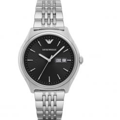 Zegarek EMPORIO ARMANI - Dress AR1977  Silver/Silver. Szare zegarki męskie marki Emporio Armani. Za 1059,00 zł.
