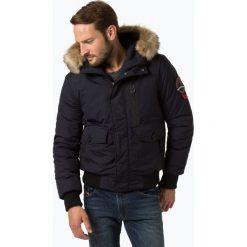 Superdry - Kurtka męska, niebieski. Szare kurtki męskie marki Superdry, l, z tkaniny, z okrągłym kołnierzem, na ramiączkach. Za 749,95 zł.