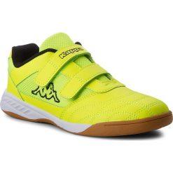 Derby męskie: Półbuty KAPPA - Kickoff K 260509K Yellow/Black 4011