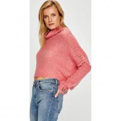 Pinko - Sweter. Różowe golfy damskie Pinko, m, z dzianiny. Za 1299,00 zł.