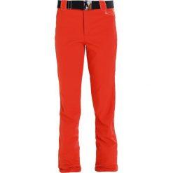 Luhta SALME Spodnie narciarskie coral red. Czerwone bryczesy damskie Luhta, z elastanu, narciarskie. W wyprzedaży za 407,20 zł.