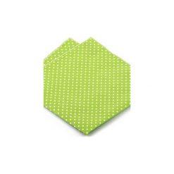 Poszetka NAVAS kropki. Zielone poszetki męskie HisOutfit, w kropki, wizytowe. Za 49,00 zł.
