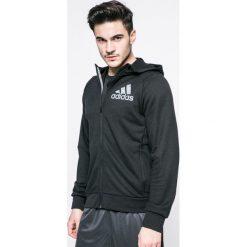 Adidas Performance - Bluza. Czarne bejsbolówki męskie adidas Performance, m, z nadrukiem, z dzianiny, z kapturem. W wyprzedaży za 149,90 zł.