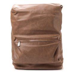 Plecaki męskie: Bobby Black Plecak Męski Brązowy
