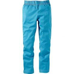 Legginsy dżinsowe bonprix turkusowy XXL. Niebieskie legginsy dziewczęce bonprix. Za 21,99 zł.
