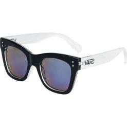 Vans Sunny Dazy Okulary przeciwsłoneczne czarny/biały/niebieski. Białe okulary przeciwsłoneczne damskie lenonki marki Vans. Za 74,90 zł.