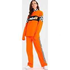 Bluzy rozpinane damskie: Jaded London HIGH NECK LONG SLEEVEWITH JADED Bluza orange